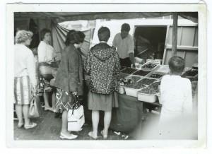 Notenkoning - Markt Maassluis in 1965 - 1