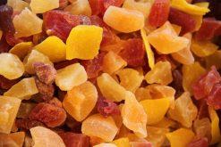 Caribbeanmix of een van onze andere gedroogd fruitproducten voor dagelijks een gezonde dosis vezels, mineralen en antioxidanten.