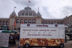 De Notenkoning op de jaarmarkt op de Boulevard van Scheveningen