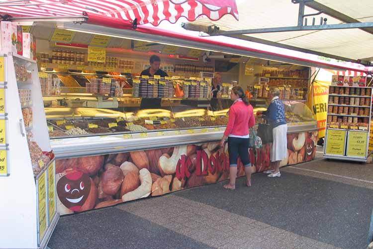 De Notenkoning op de markt in Krimpen ad IJssel