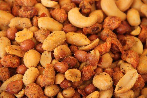 Iedere dag de allerbeste pikante peanutmix of een van onze andere notenmixen vers van de Notenkoning.
