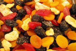 Gedroogde Tutti Frutti van de Notenkoning is lekker en gezond.